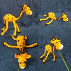 Ustalık eserim zürafa amigurumi zürafa