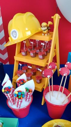 21 Ideas For Birthday Ideas Decorations Paw Patrol Bolo Do Paw Patrol, Paw Patrol Cake, Paw Patrol Party, Birthday Party Tables, 3rd Birthday Parties, Boy Birthday, Birthday Themes For Adults, Birthday Ideas, Paw Patrol Decorations