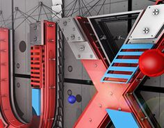 """Check out new work on my @Behance portfolio: """"3D_Typography_UX"""" http://be.net/gallery/38376615/3D_Typography_UX"""