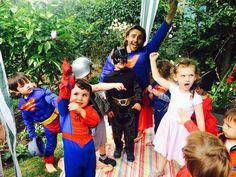 Little superheroes in super fun party adventure!