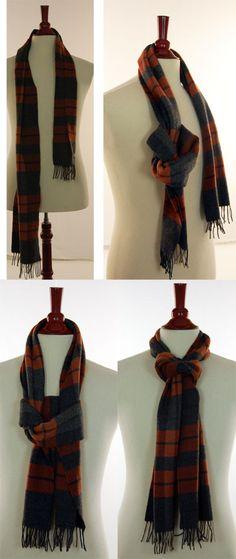 Fake-knot-scarf