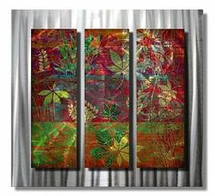 All My Walls NOR00012 Walk in the Woods by All My Walls. $394.00. Take a Walk in the Woods with this metal wall sculpture. This beautiful illuminated metal wall hanging consists of 2 colorful painted metal layers comprised of 2 metal panels that will liven up any homes decor. Each metal artwork accent has an individually hand sanded design that will display a vibrant three dimensional effect bringing the walls of any home to life. Size: 29'' Tall x 31.5'' Wide
