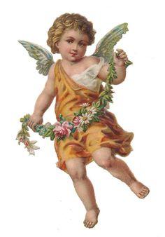 Bild einbinden: Angel Victorian die cut-Victorian scrap