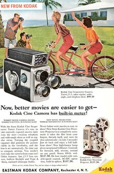 Camera advertisement in the old day..