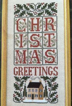 The Prairie Schooler Christmas Samplers II Cross Stitch Pattern No 73 Chart…