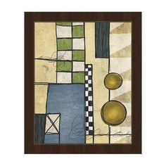 "Click Wall Art At The Race Track Framed Painting Print on Canvas Frame Color: Espresso, Size: 14"" H x 11"" W x 1"" D"