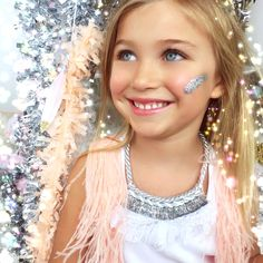 MODERN QUEEN kids: Sparkler Necklace in Silver