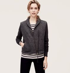 looks a bit similar to the jcrew jacket I desperately want but can't afford. more moto than varsity though