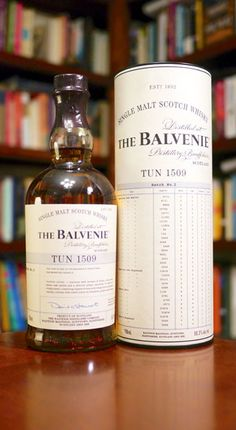 Balvenie Tun 1509 Batch 2 Single Malt Scotch Whisky