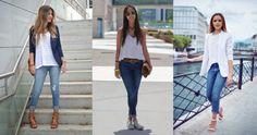 Más de 10 outfits con jeans.   Moda Mckela