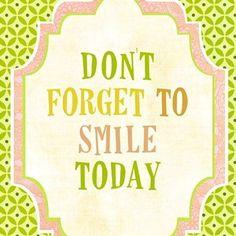 Smile ; )