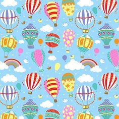Balloons Patterns - Emily Golden Illustration