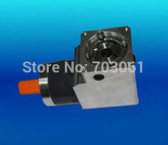 120mm planetary gearbox right angle flange output use for servo and stepper motor DC Speed Reducers