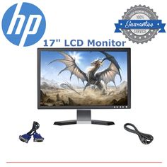 awesome DELL HP SAMSUNG ACER & more 17 inch sharp Flat Screen LCD Monitor GOOD SCREEN   Check more at http://harmonisproduction.com/dell-hp-samsung-acer-more-17-inch-sharp-flat-screen-lcd-monitor-good-screen/