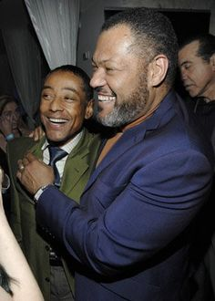 Laurence Fishburne and Giancarlo Esposito *O* What a Duo! I Movie, Movie Stars, Gustavo Fring, Gina Torres, Like A Boss, Fantasy, Mens Fashion, Actors, My Love