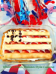 Sugar Free Flag Cheese Pie a sugar free keto diabetic friendly cheese pie in a flag shape for celebrating the Patriotic holiday Cheese Pie Recipe, Cheese Pies, Pie Recipes, Low Carb Recipes, Fun Desserts, Dessert Recipes, Muffins, Fourth Of July Food, Cream Cheese Filling