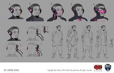 ArtStation - Concepts for the CBLOL 2016, Cesar Rosolino