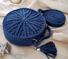 Crochet pattern - My round bag - Crochet handbag!! Permission to sell finished items. Pattern No. 243