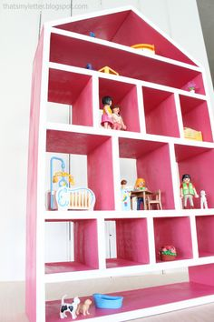 Ana White | Build a Dollhouse Wall Shelf | Free and Easy DIY Project and Furniture Plans