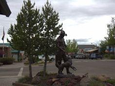 Art on Main Street Joseph, Oregon