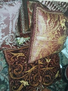 Cowboy Boots, Cushions, Textiles, Silk, Antiques, Throw Pillows, Antiquities, Toss Pillows, Antique