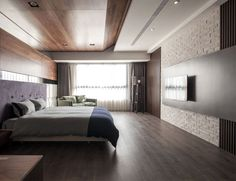 Minimalistic Taiwanese Loft by Oliver Interior Design bedroom refine simplicity