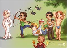 hunger games anime | Picture] Vorfreude auf The Hunger Games | Sheerisans Bücheruniversum
