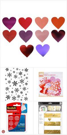 Cardboard Crafts, Foam Crafts, Paper Crafts, Diy Crafts, Planner Tabs, Meal Planner, Valentine Crafts, Valentine Day Cards, Plastic Canvas Books