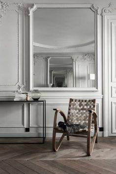 Projekty, Minimalistyczny Salon zaprojektowane przez César Pupat Architecture…