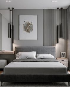Modern Luxury Bedroom, Master Bedroom Interior, Luxury Bedroom Design, Luxurious Bedrooms, Home Bedroom, Home Interior Design, Small Modern Bedroom, Contemporary Bedroom, Hotel Room Design