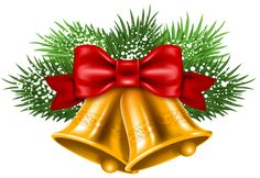 Transparent Christmas Bells PNG Clipart Picture