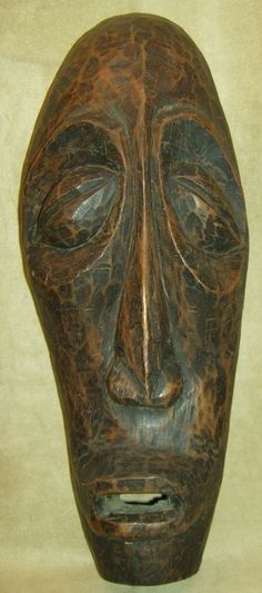 IBIBIO Mask Wood Carving African Art Collectibles