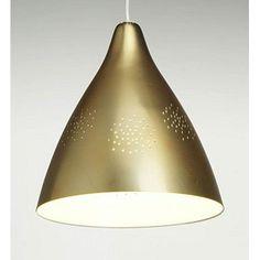 Lisa brass lamp by Lisa Johansson-Pape Vintage Designs, Retro Vintage, Brass Lamp, Lightning, Lisa, Ceiling Lights, Interior, Finland, Beautiful