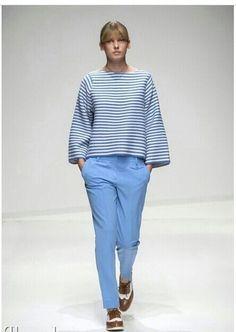 #stefanel #stefanelvigevano #look #moda #trendy #shopping #negozio #shop #sfilata #azzurro #riga