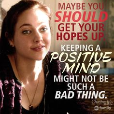 "S2 Ep8 ""The Ghost in You"" - Brenna is so right! #ChasingLife #8/24/15"