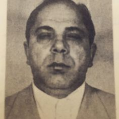 Richard Manfredonia (1908-1976) aka Dick aka Richard Monroe was a soldier in the Genovese family, same as his brother John Manfredonia, who would be killed in 1978. Crime record dates back t0 1944 and mentions bootlegging, state narcotic laws and two federal convictions that got him 6-18 years in prison. He was associated with Harry Tantillo, Joe Valachi, John Stopelli, Vincent Mauro and Michael Altimari. Was one of a group of mafiosi distributing wholesale quantities of heroin.