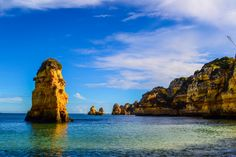 One from the bucket list: the breathtaking beaches of the Algarve.