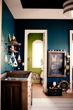 GORGEOUS nursery color combo!