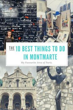 The 10 Best Things To Do in Montmarte, My Favourite Area of Paris. - The beautiful area of Montmartre has quickly become my favourite area of Paris. The 18th Arrondissement with its quaint streets, quirky little galleries, windmills, Sacre Coeur and breaktaking views what is not to love. Here's 10 reasons and things to do proving why Montmartre should be on your must visit list! - Veritru