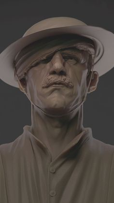 """Is this some kind of bust?"" - my zbrush works - Page 5"