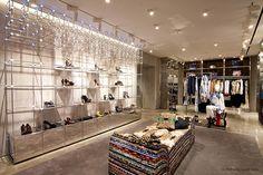 JUST CAVALLI flagship store, Milan store design