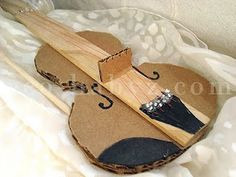 Cardboard violin tutorial!