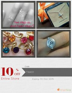 Get 10% OFF our Entire Store now! Enter Coupon Code: TNK01 Restrictions: Min purchase: USD 18.00, Expiry: 30-Dec-2015. Click here to avail coupon: https://www.etsy.com/shop/stampedbydmarie?utm_source=Orangetwig