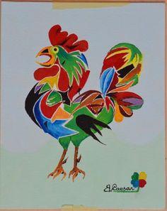GALLO CESARE  - acrilic on canvas - 1969 - 24x30  - sold -