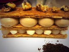 Pear, Chocolate and Coffee Slice...Yum!