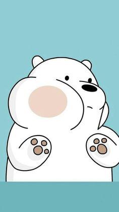 ice bear we bare bears blue iphone wallpaper Cute Disney Wallpaper, Kawaii Wallpaper, Cute Wallpaper Backgrounds, Wallpaper Iphone Cute, We Bare Bears Wallpapers, Panda Wallpapers, Cute Cartoon Wallpapers, Ice Bear We Bare Bears, We Bear