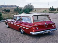 1961 Chevy Station Wagon  NEVER made a 61 El Camino but