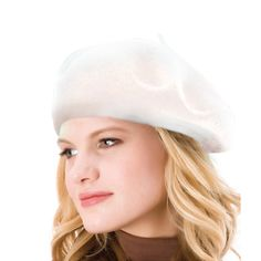 French Beret-100% Wool Solid Color Womens Beanie Cap Hat By ICSTH (One  size 4075b522697a
