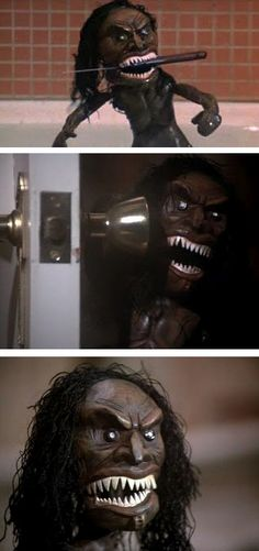 Trilogy of Terror, 1975, Karen Black (hahaha! YouTube has the whole movie! Can't wait to watch it! Roy)