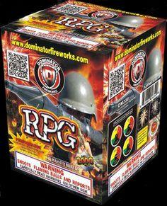 RPG 6 Shot | NCI, Inc. Indiana Fireworks Wholesale